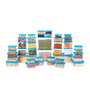 All Time Polka Blue Rectangle Storage Container - Set of 42