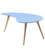 Alpha Center Table in Aqua Colour by @home