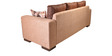 Amazon Fab Three Seater Sofa in Brown Colour by HomeTown