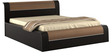 Amazon Queen Bed with Hydraulic Storage in Wenge Colour by Spacewood