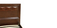 Amelia Solidwod Queen Bed with Hydraulic Storage in Brown Colour by HomeTown