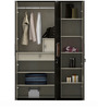 Amazon Three Door Wardrobe in Wenge Colour by Spacewood