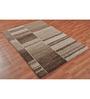 Ambadi Brown Polypropylene Carpet