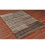 Ambadi Natural Brown Polypropylene Carpet