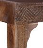 Ambar Handcrafted Large Bench in Provincial Teak Finish by Mudramark