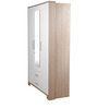 Ambra Three Door Wardrobe With Mirror by HomeTown