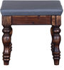 Ambrose Stool in Provincial Teak Finish by Amberville