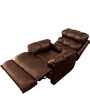 Amet Manual Recliner in Brown Colour by Little Nap Designs