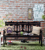 Hamilton Bench in Espresso Walnut Finish by Amberville