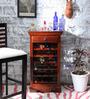 Hamilton Bar Cabinet in Honey Oak Finish by Amberville