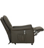 Amigo Genuine Leather Recliner in Brown Colour by Royal Oak