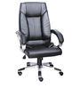 Amst High Back Executive Chair in Black Colour by The Furniture Store