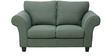 Anapolis Two Seater Sofa in Graphite Grey Colour by CasaCraft