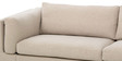 Anisto Three Seater Sofa in Beige Colour by Madesos