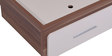 Anne Teen Bed with Two Drawer Storage in White & Maple Finish by Evok