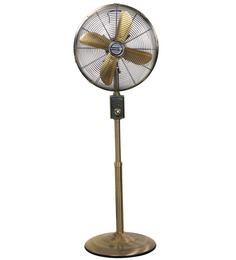 Anemos Jinling Designer 18 x 53.5 Inch Pedestal Fan 450mm