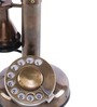 Anantaran Brown Brass Antique Brown Table Telephone