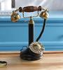 Anantaran Black Brass Antique Candlestick Maharaja Telephone