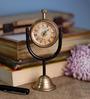 Anantaran Multicolor Brass Vintage Table Clock