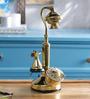 Anantaran Gold Yellow Brass Vintage Table Telephone
