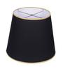 Anasa Black Cotton Lamp Shade