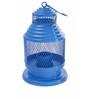 Anasa Blue Metal Lantern