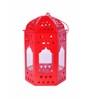 Anasa Red Metal Lantern
