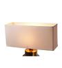 Anasa White Cotton Lamp Shade