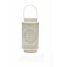 Anasa White Metal Lantern