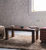 Lacanoia Mango Wood Minimalist Coffee Table In Provincial Teak Finish by Woodsworth