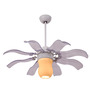 Anemos Fiore Brushed Nickel Contemporary Designer Fan