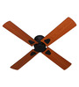 Anemos Kyoto Light Brown and Black 1050 MM Cherry Designer Ceiling Fan