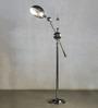 Anemos Silver Metal Floor Lamp