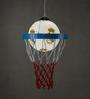 Anemos Yellow Basketball Pendant Light