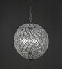 Anemos Silver Brass & Glass Pendant