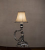 Anemos Chrome Plated Swarovski Bead Table Lamp