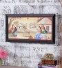 Angel Decor Canvas & MDF 25 x 1 x 14 Inch Boone Framed Digital Art Print
