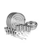 Anjali Stainless Steel 20-piece Dinner Set