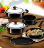 Anjali Nonstick 5-Pieces Cookware Gift Set