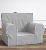 ANYWHERE Kids Sofa with Cushion in Grey