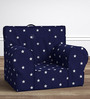 ANYWHERE Kids Sofa with Cushion in Starry Blue