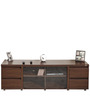 Apollo TV Unit in Honey Brown Finish by StyleSpa