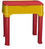 Apple Moulded Baby Desk in Red & Yellow Colour by Nilkamal