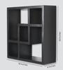 Panama Contemporary Wall Shelf in Grey by CasaCraft