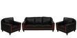 Aqua Sofa Set (3+1+1) Seater in Black Color by Royal Oak