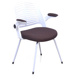 Aqua Chair in White Brown colour by @home