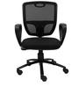 Aqua Ergonomic Chair in Black Colour by Starshine