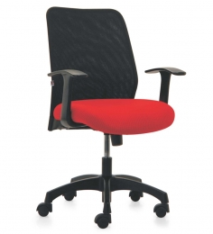 Armada Series D High Back Offic Chair in Red colour by BlueBell Ergonomics