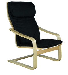 Chair in Black Color by @home