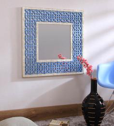 Artelier Multicolour Acrylic Oriental Mirror Frame with Squares